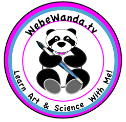 Web E Wanda. TV Learn how to draw with science lessons